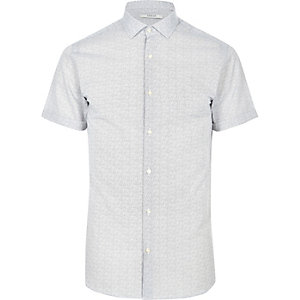 White patterned Jack & Jones Premium shirt