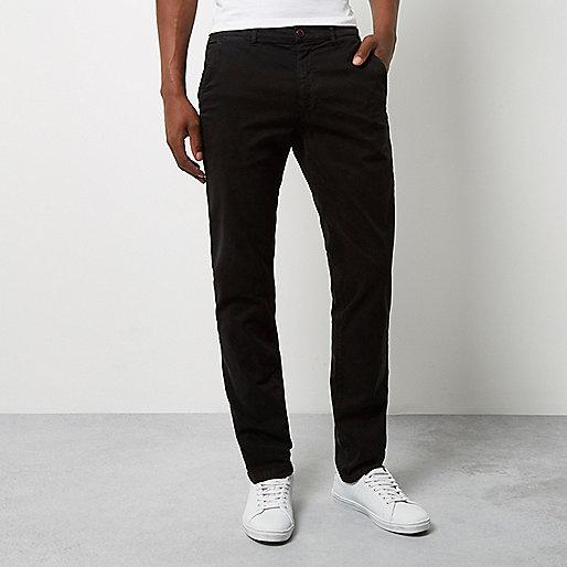 Pantalon skinny Franklin & Marshall noir