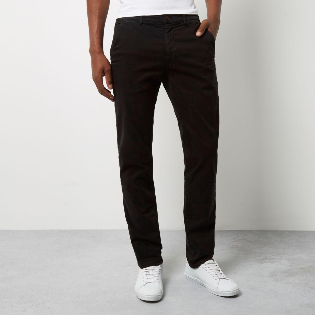 Black Franklin & Marshall skinny trousers