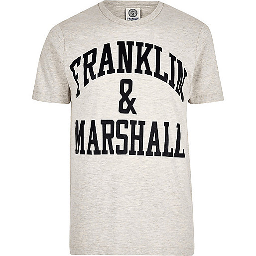 Franklin & Marshall – Graues T-Shirt