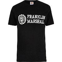 Franklin & Marshall – Schwarzes T-Shirt