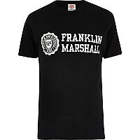 Black Franklin & Marshall T-shirt