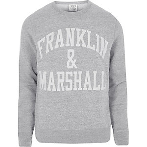 Dark grey Franklin & Marshall sweatshirt