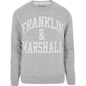 Sweat Franklin & Marshall gris foncé