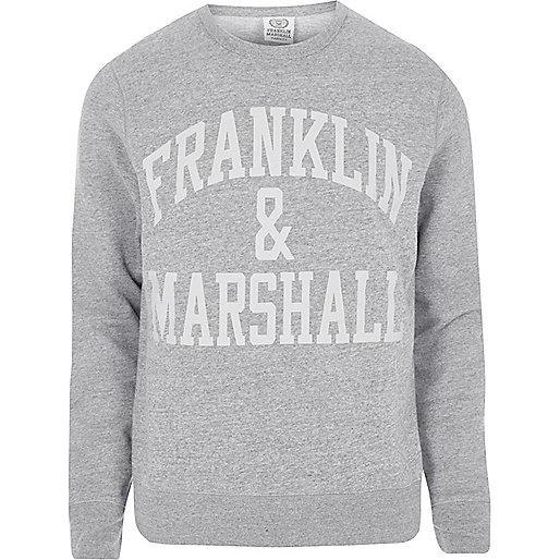 Dark grey Franklin & Marshall sweatshirt