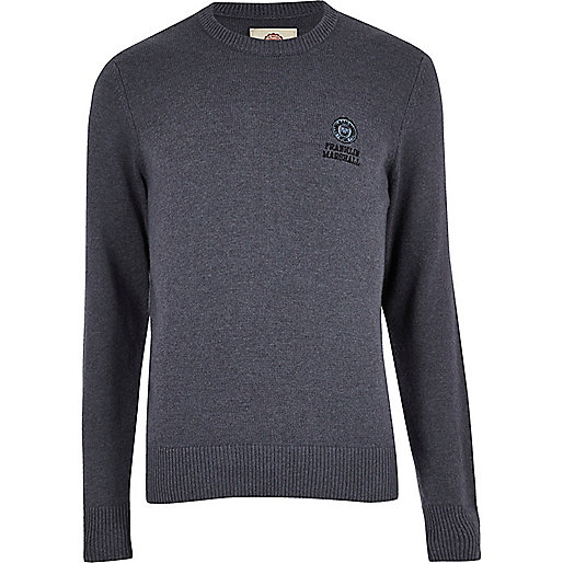 Blue Franklin & Marshall knit sweater