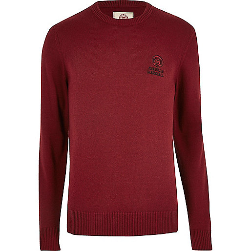 Pull Franklin & Marshall rouge