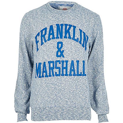 Blue Franklin & Marshall sweatshirt