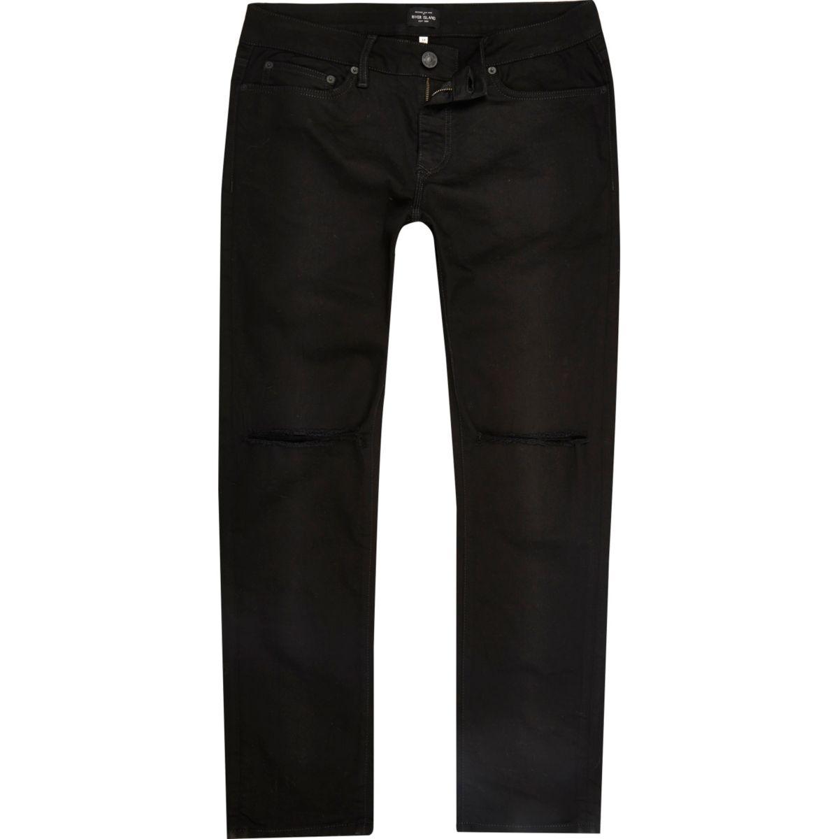 Dylan – Slim Jeans im Used-Look