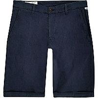 Short skinny Franklin & Marshall bleu