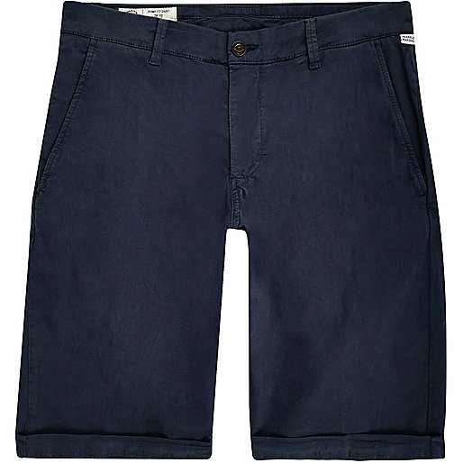 Short skinny Franklin & Marshall bleu