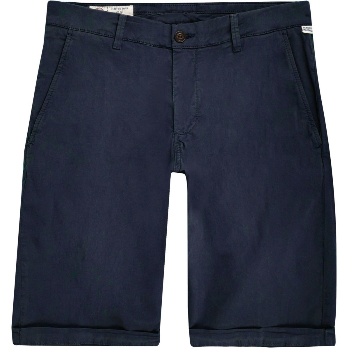 Franklin & Marshall blauwe skinny short