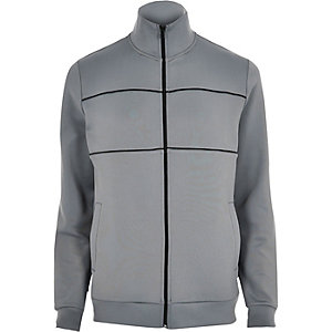 Grey track jacket