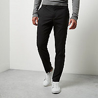 Dark grey Jack & Jones smart trousers