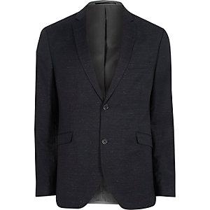 Jack & Jones Premium marineblauwe blazer van wolmix