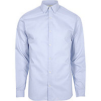 Blue Jack & Jones Premium smart shirt