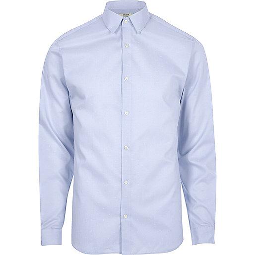 Blue Jack & Jones Premium smart shirt