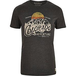 "T-Shirt ""Colorado"" in Khaki"