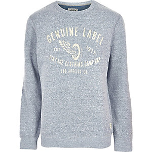 Grey Jack & Jones Vintage soft sweatshirt