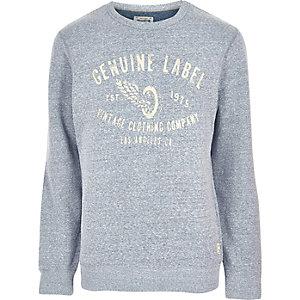 Grey Jack & Jones Vintage soft sweatshirt