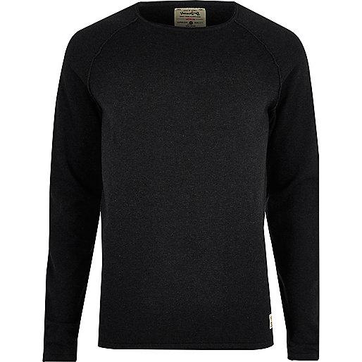 Navy Jack & Jones Vintage knit sweater