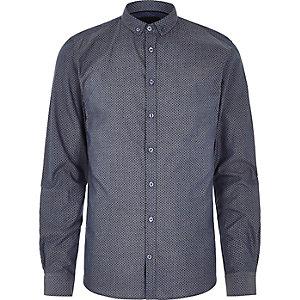 Vito – Mittelblaues Hemd