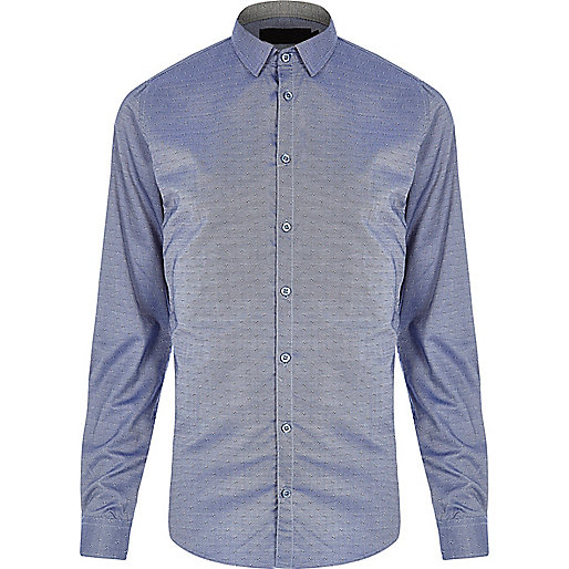 Blue Vito smart shirt