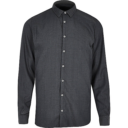 Charcoal grey Vito shirt