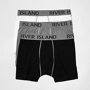 Branded hipster boxers multipack