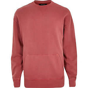 Red pocket sweatshirt