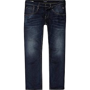 Jack & Jones blauwe ruimvallende jeans