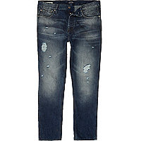 Blue wash Jack & Jones slim fit jeans