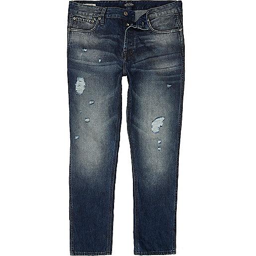 Blue wash Jack & Jones slim fit jeans