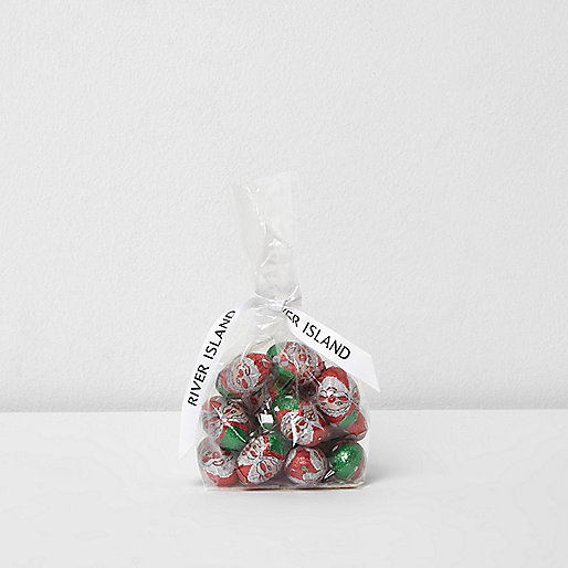 Red Santa chocolate bag 150g