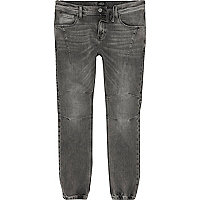 Ryan – Jean délavage gris style pantalon de jogging