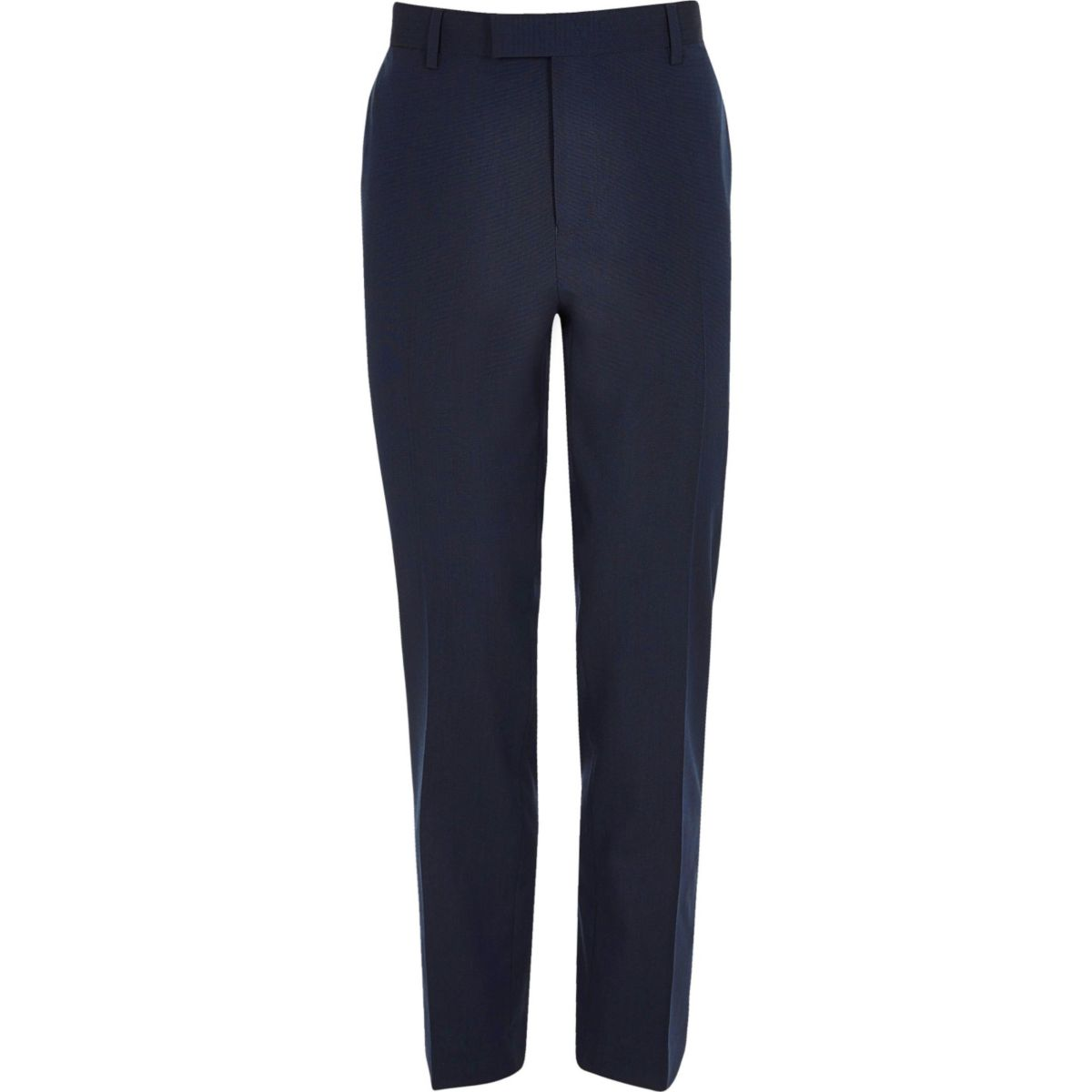 dark blue stretch slim fit suit trousers trousers sale