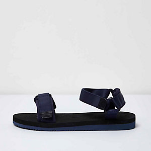 Navy blue hike sandals