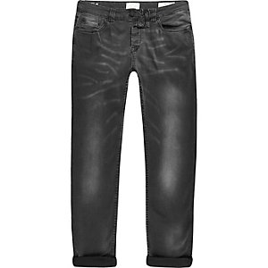 Only & Sons – Dunkelgraue Skinny Fit Jeans