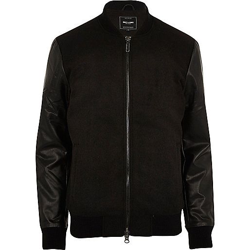 Black Only & Sons bomber jacket