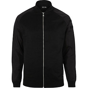 Black Only & Sons nylon sleeve bomber jacket