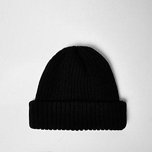 Bonnet noir de pêcheur