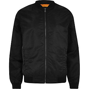 Only & Sons – Bomberjacke in Schwarz