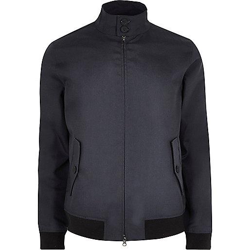Navy Only & Sons harrington jacket