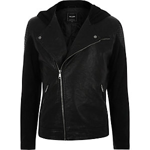 Black Only & Sons textured jacket