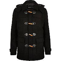 Duffle-coat Only & Sons noir
