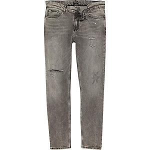 Sid – Hellgraue Skinny Jeans