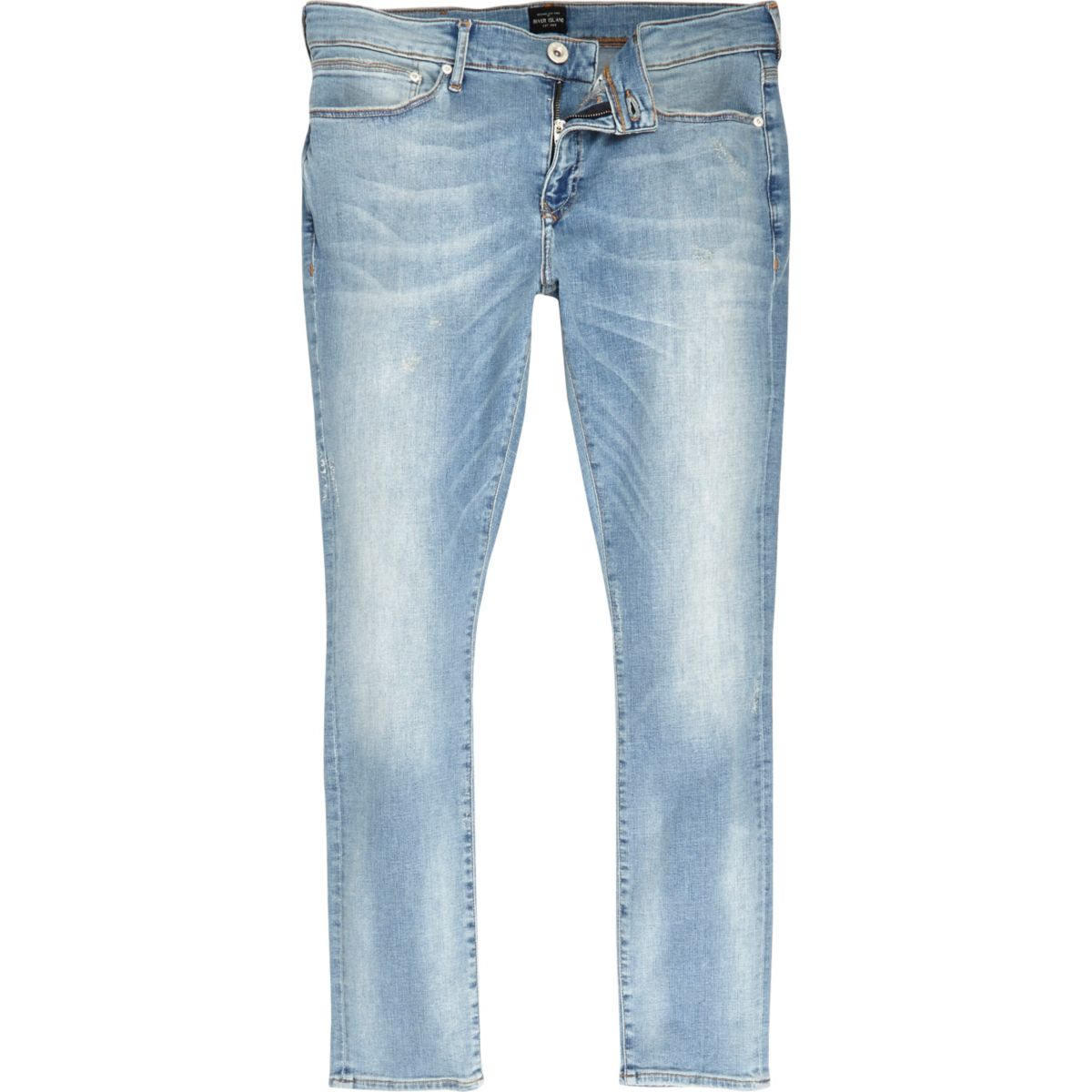 Light blue wash super skinny Danny jeans