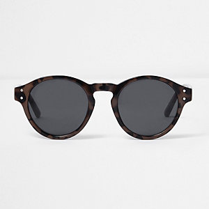 aviator round sunglasses  Mens Sunglasses - Aviator, Round \u0026 Retro - River Island