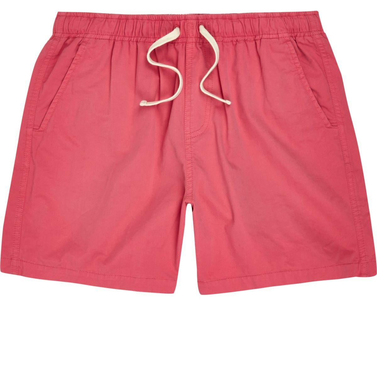 Pink casual shorts
