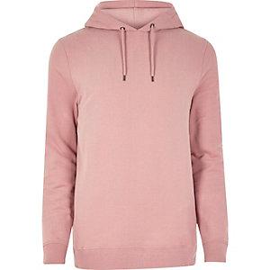 Pink casual hoodie